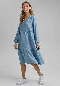 edc by Esprit - Day dress - light blue - 1