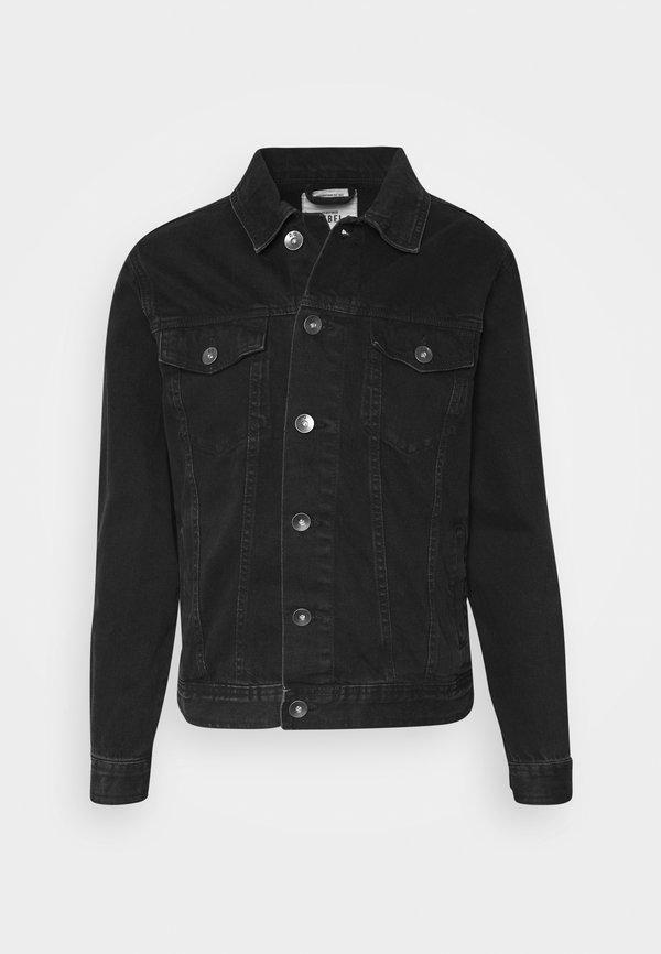 Redefined Rebel MARC JACKET - Kurtka jeansowa - black stone/czarny denim Odzież Męska SRWI