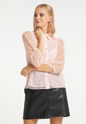 Button-down blouse - rosa