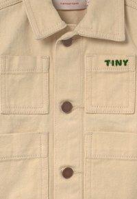 TINYCOTTONS - WINTER WORLD TOUR SOLID UNISEX - Denim jacket - cream - 2