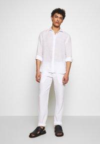 120% Lino - Shirt - white - 1