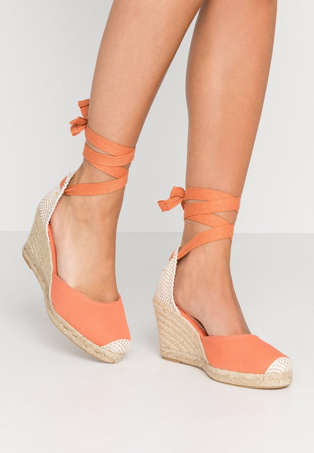 MARMALADE WIDE FIT - High heeled sandals - blush