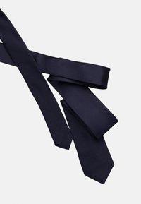 Calvin Klein - SOLID - Cravatta - midnight - 3