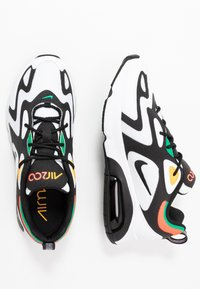 Nike Sportswear - AIR MAX 200 - Sneakers - white/black/bright crimson/university gold/lucid green - 2