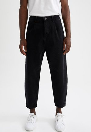 BALLOON - Relaxed fit jeans - black