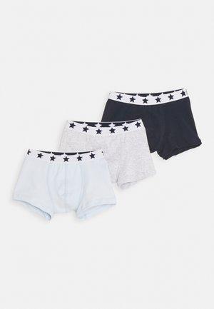 STAR BOXERS 3 PACK - Pants - dark blue/white