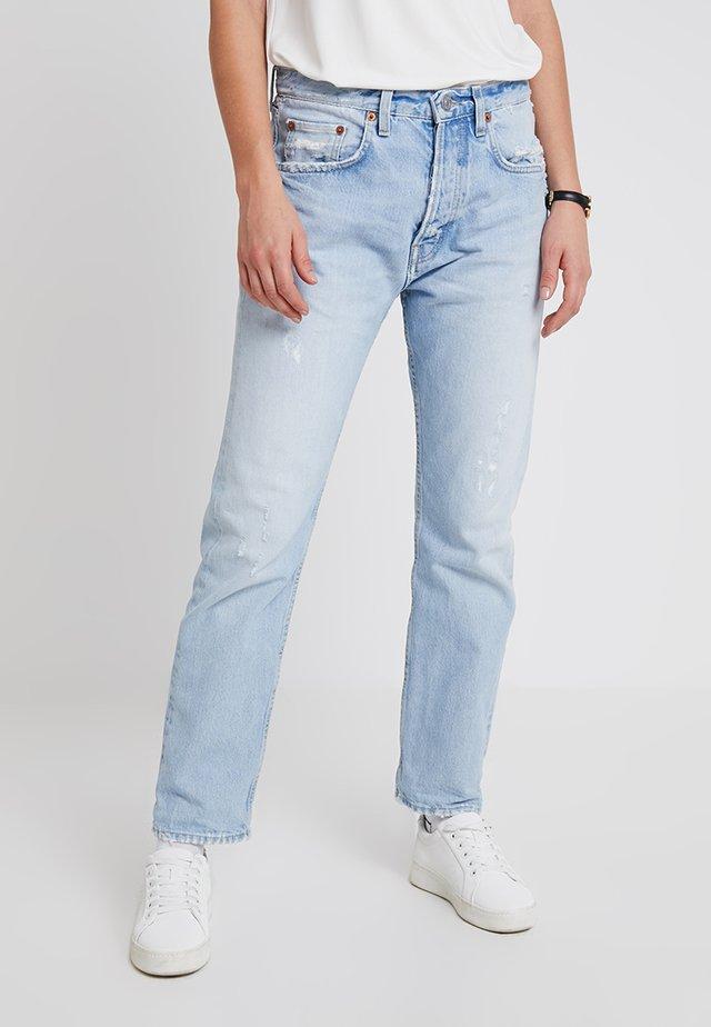 OREGON - Jeans slim fit - old blue denim vintage