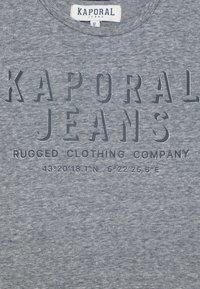 Kaporal - OREL - Print T-shirt - navy melange - 2