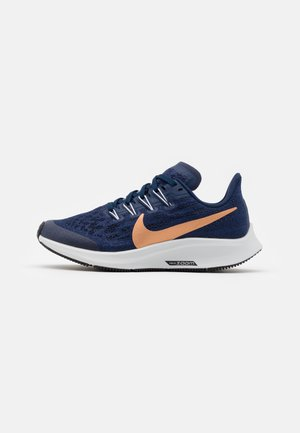 AIR ZOOM PEGASUS 36 UNISEX - Scarpe running neutre - midnight navy/metallic red bronze/cool grey/dark obsidian
