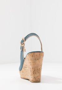 Laura Biagiotti - High heeled sandals - blue - 5