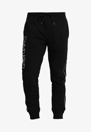 LOGO PRINT - Verryttelyhousut - perfect black