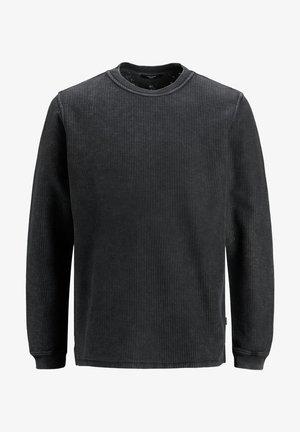 JPRBLAMICHAEL CREW NECK - Pyjama top - black