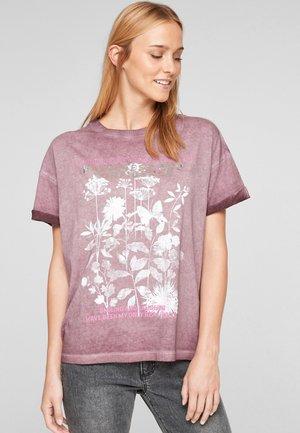 À INSCRIPTION IMPRIMÉE - Print T-shirt - purple placed print