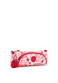 Kipling - CUTE - Pencil case - pink leaves - 2