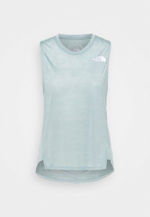 UP WITH THE SUN TANK  - Top - silver blue