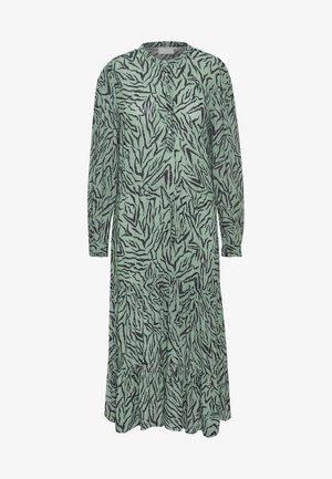 BPKALEY - Abito a camicia - trellis algae print