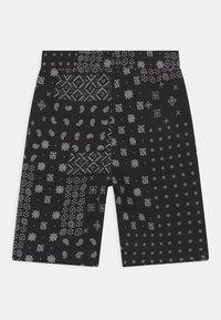 Levi's® - LOGO - Shorts - black/white - 1