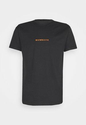 MENNACE ESSENTIAL  - Camiseta estampada - black