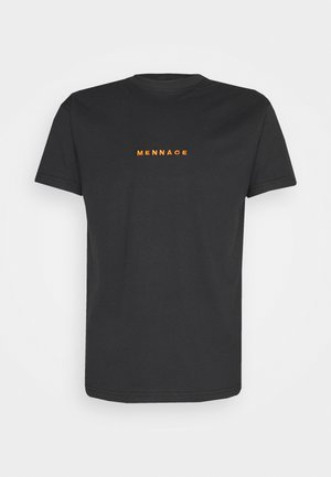 MENNACE ESSENTIAL  - T-shirt imprimé - black