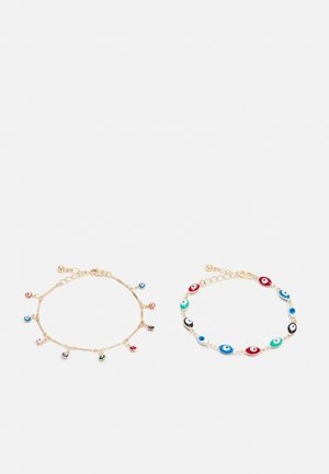 PCHEVY BRACELET 2 PACK - Bransoletka - gold-colored