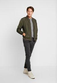 Timberland - COHAS BROOK MERINO  - Jumper - medium grey heather - 1