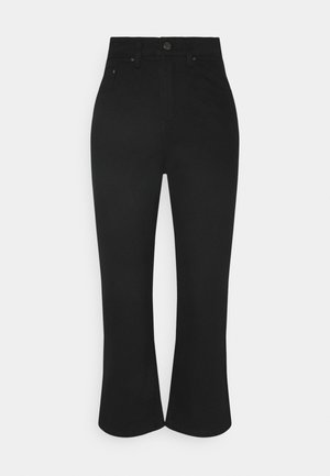 LONGERLINE KICK RAVEN - Relaxed fit jeans - black
