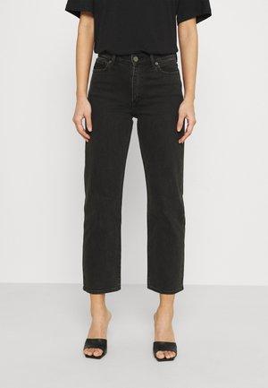 KASEY - Straight leg jeans - black