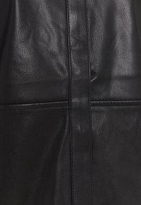 Gina Tricot - ANNIE - Button-down blouse - black - 5