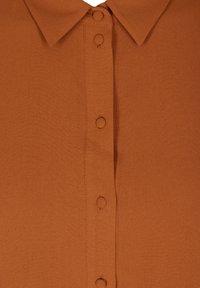 Zizzi - Button-down blouse - brown - 5