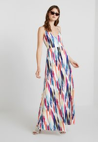KIOMI TALL - Maxi dress - off-white/blue - 1