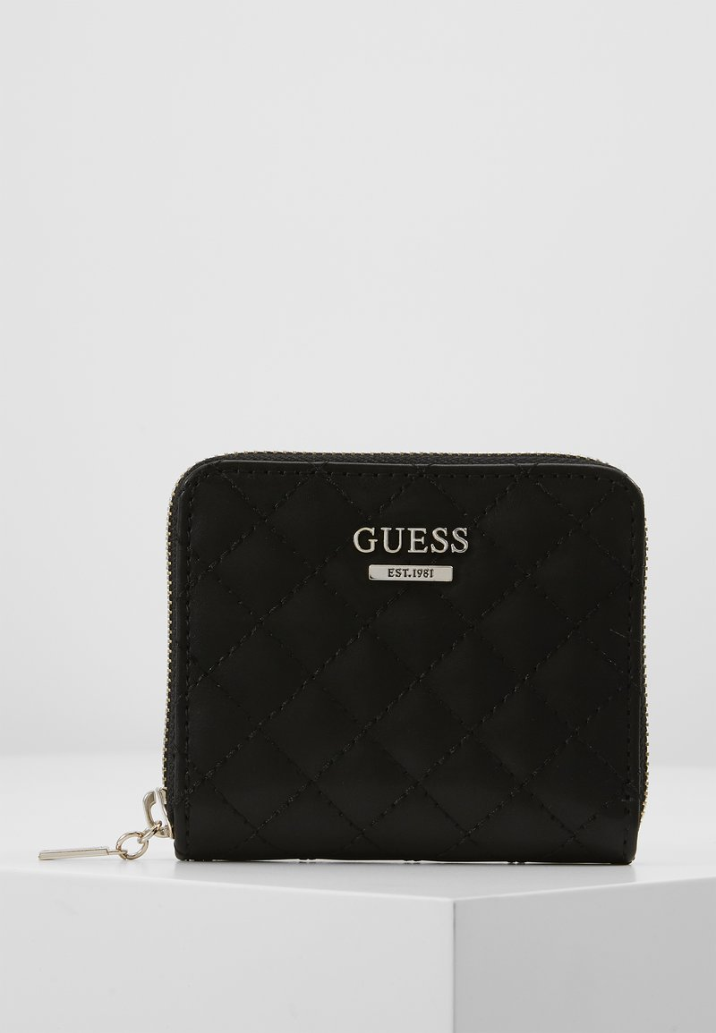 Guess - KAMRYN SMALL ZIP AROUND - Wallet - black