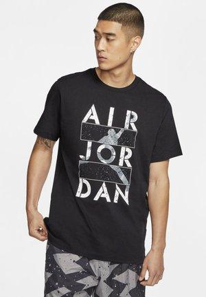 STENCIL - Print T-shirt - black
