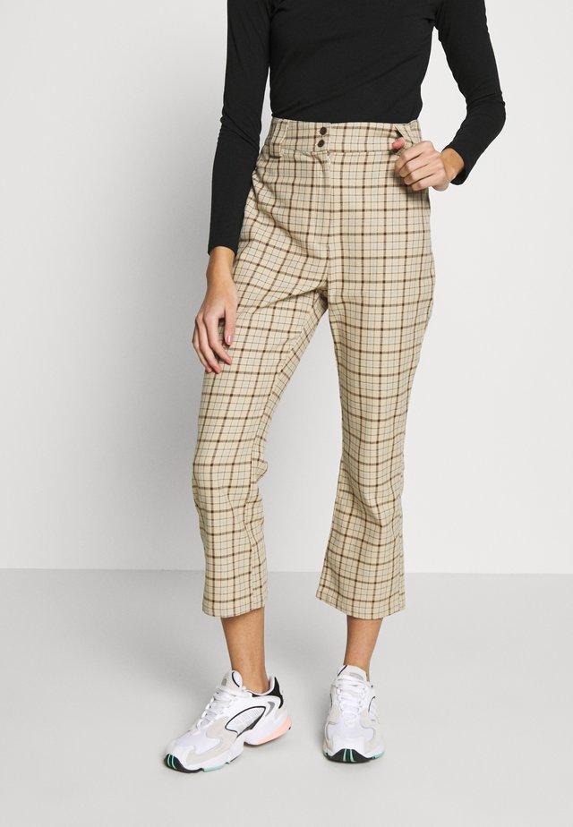 PATTI TROUSERS - Trousers - beige