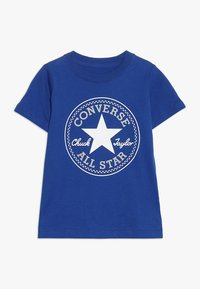 Converse - CORE CHUCK PATCH TEE  - Camiseta estampada - blue - 0