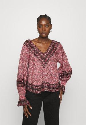 SLUB  - Long sleeved top - pink