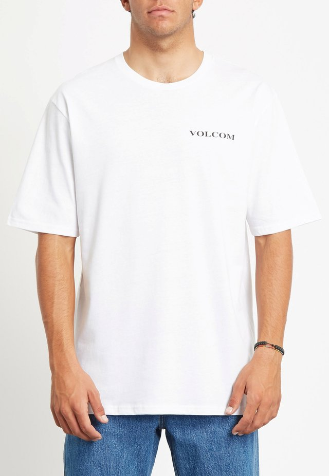 VOLCOM STONE RLX SS - T-shirt basic - white