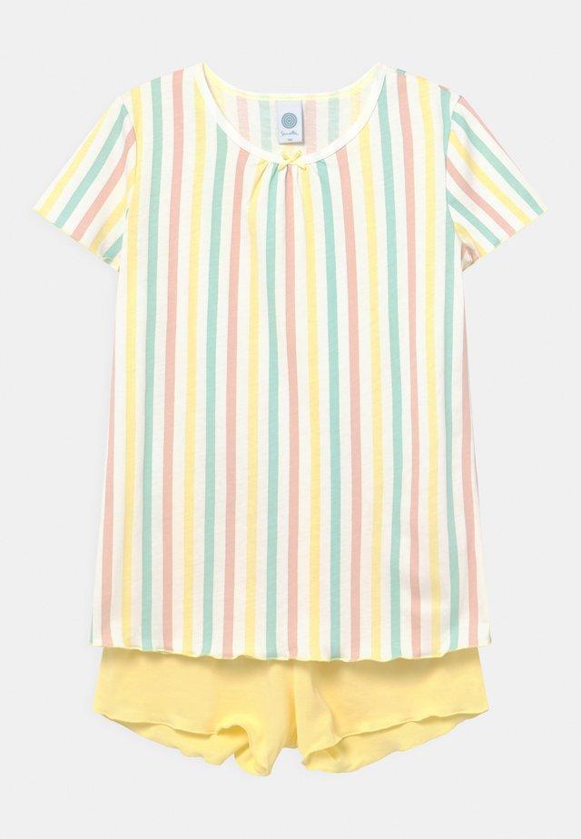 STRIPE - Pyžamová sada - lemon