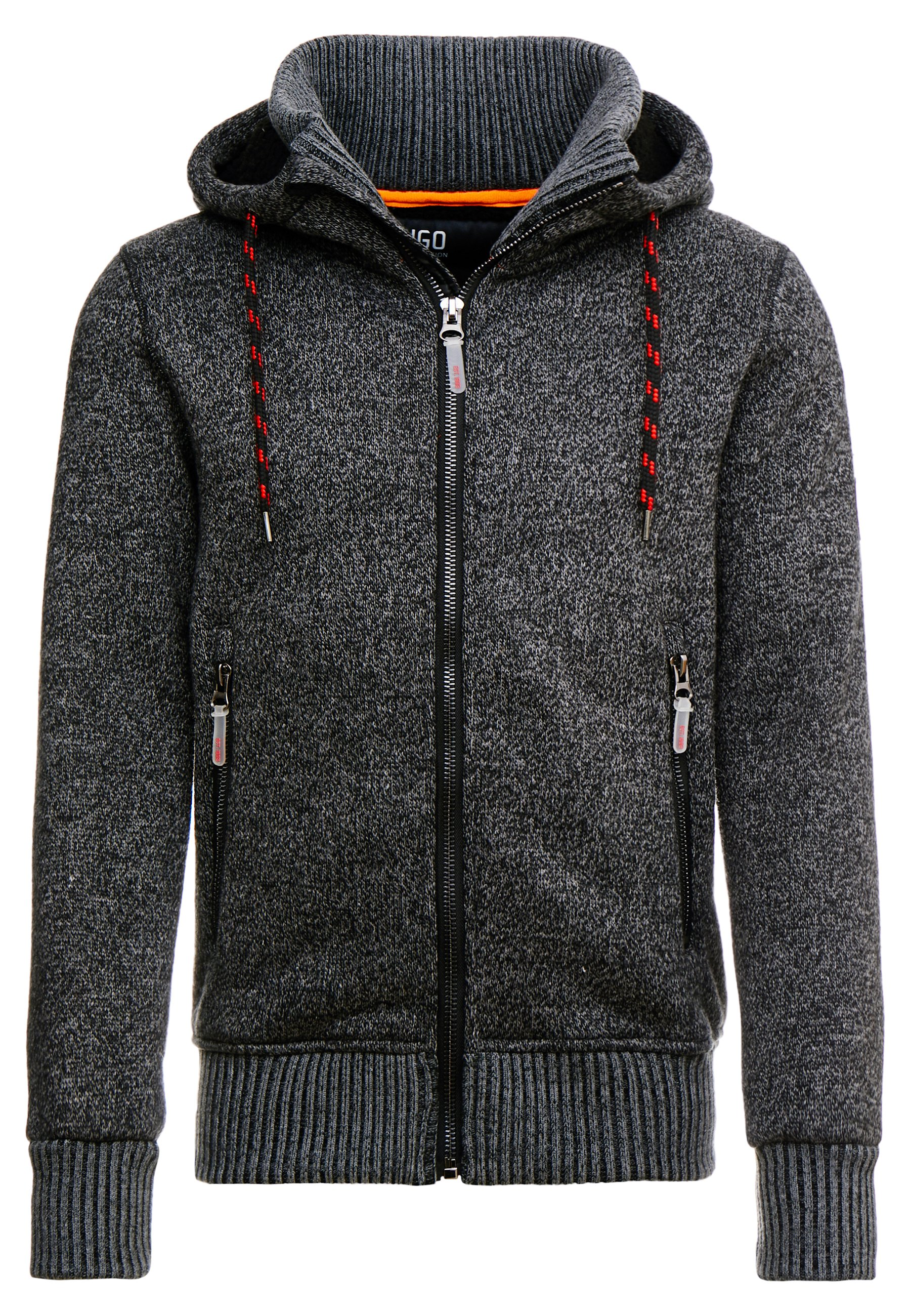 INDICODE JEANS CAXTON Sweatjacke charcoal mix Zalando.at
