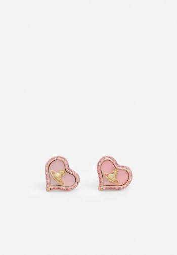 PETRA EARRINGS - Earrings - pink gold-coloured
