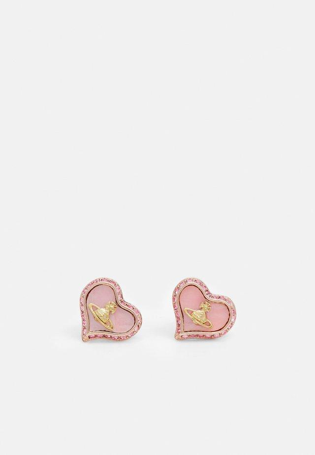 PETRA EARRINGS - Kolczyki - pink gold-coloured