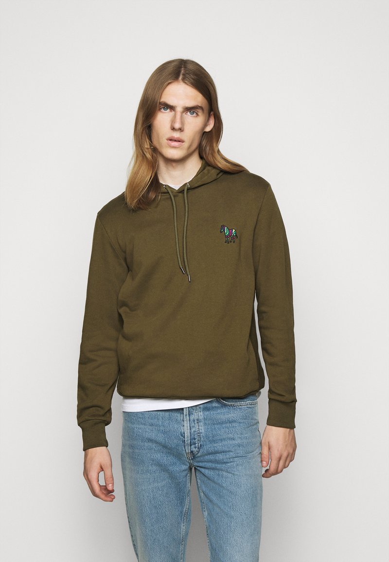 PS Paul Smith - ZEBRA SOPO HOODIE - Hoodie - khaki