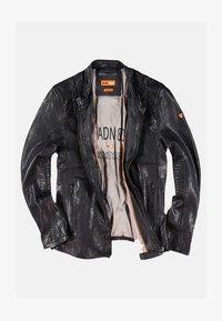 Emilio Adani - Leather jacket - schwarz - 4