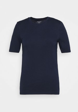 CREW TEE - Basic T-shirt - dark blue