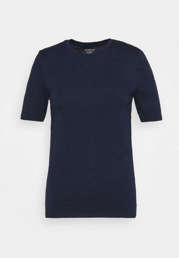 CREW TEE - Basic T-shirt - dark blue
