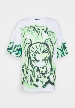 NOT YOUR - Print T-shirt - green