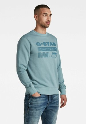 ORIGINALS LOGO - Sweatshirt - light bright nickel