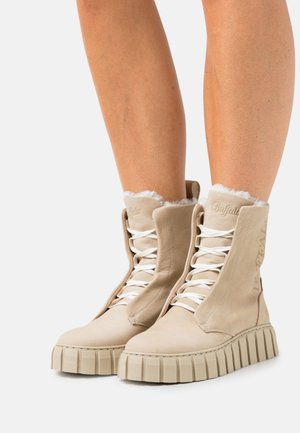 SABA - Platform ankle boots - cognac