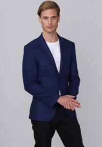 Basics and More - Blazer jacket - indigo - 2