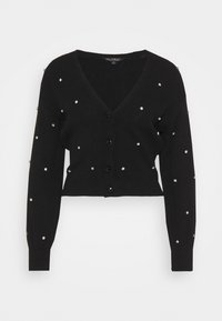 Miss Selfridge - EMBELLISHED CARDIGAN - Cardigan - black - 0