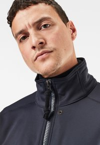 G-Star - SOFTSHELL BOMBER - Bomberjacks - mazarine blue/dk black - 3